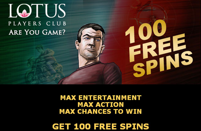 Play the Max Cash Video Slot this week with 100 Free Spins. Simply