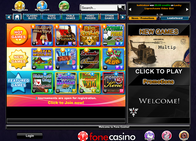 fonecasino-web-version