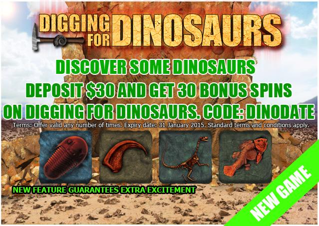 Digging for Dinosaus